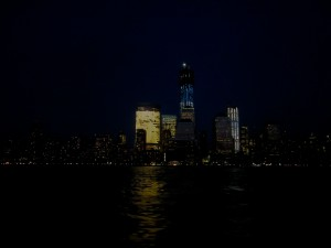 Glowing Manhattan